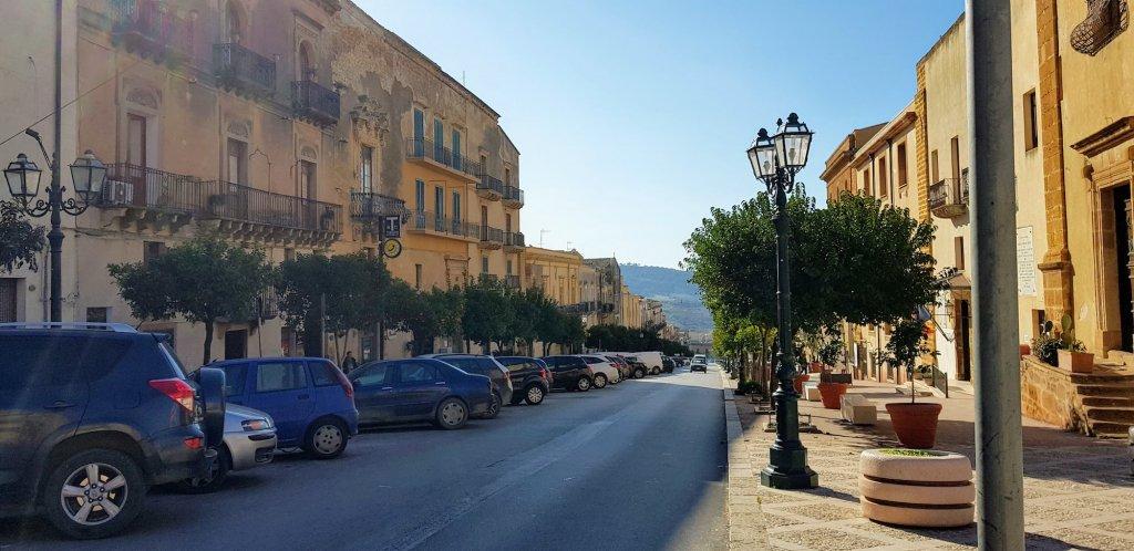 main street in sambuca Italy