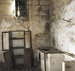 Inside of 1 euro house in Sambuca Sicily