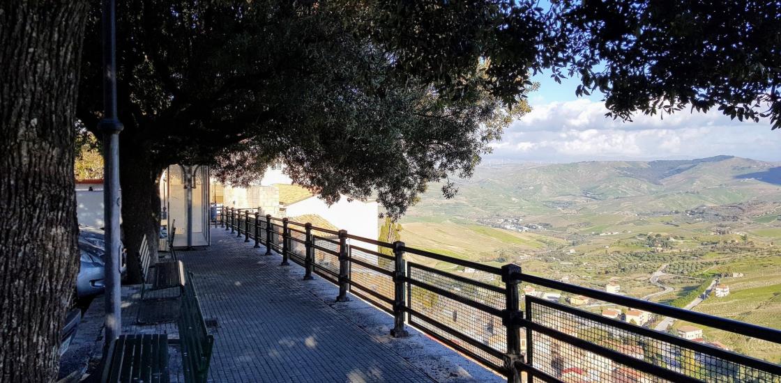 view in cammarata Italy